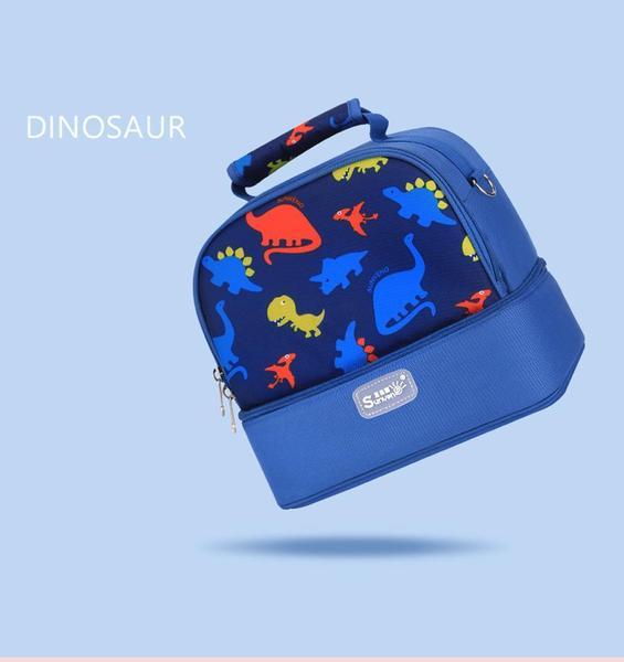 Dinosaur Blue Baby Bag