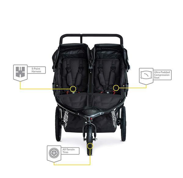 BOB Revolution Flex 3.0 Duallie Jogging Stroller Safety Features