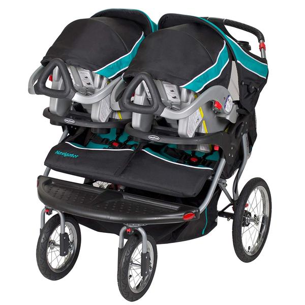 Baby Trend tropic double jogging stroller with speakers