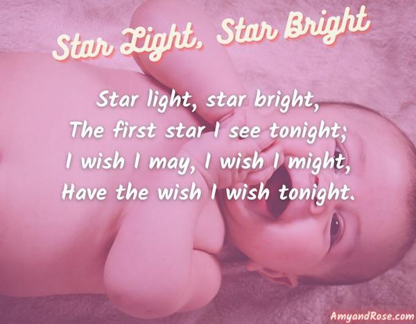 Star Light Star Bright Lullaby Lyrics