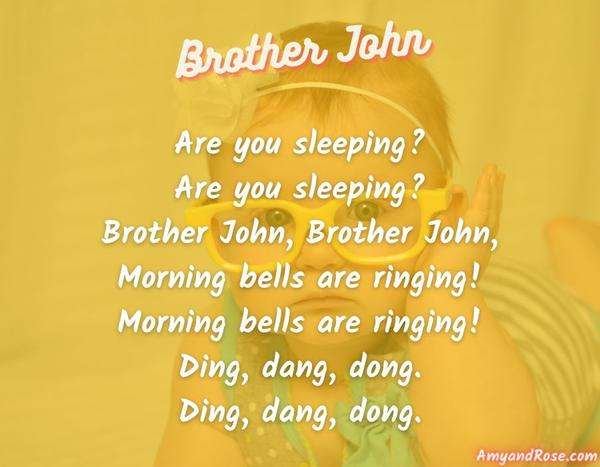 Brother John Lullaby Lyrics