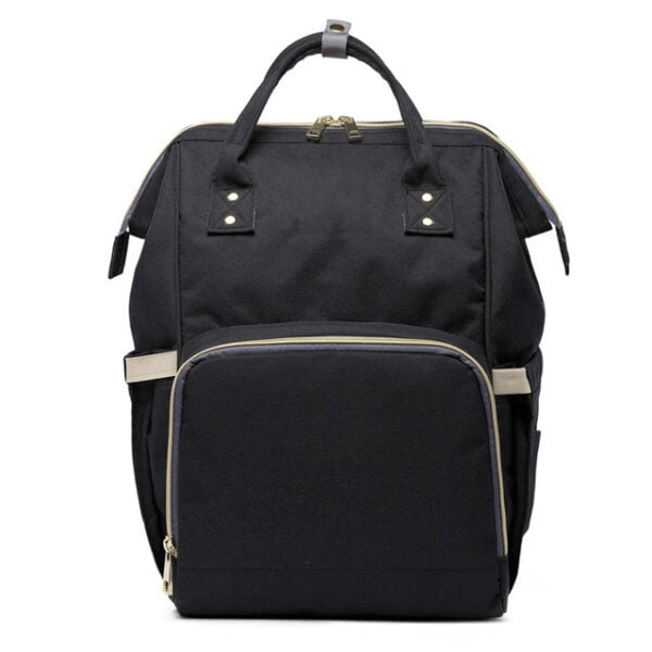 Fashion Mummy Maternity Diaper Bag Black