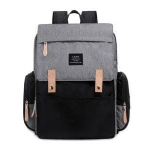 Original Land Diaper Backpack Bag - Grey Rixi - AmyandRose