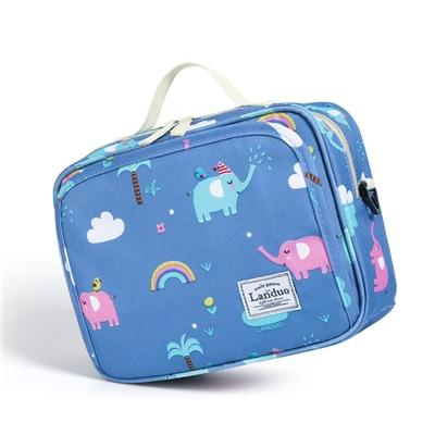 Land Diaper Bag - Small Blue - AmyandRose