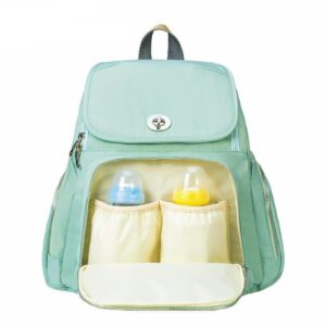 Trendy Mummy Maternity Diaper Backpack Green