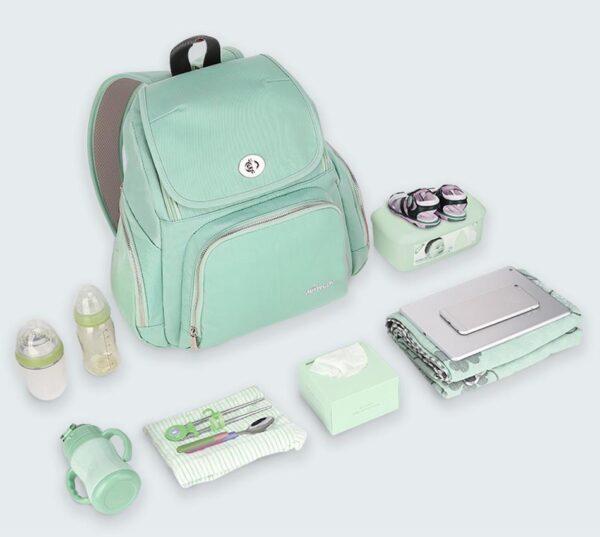 Trendy Mummy Maternity Diaper Backpack Mobile Organize