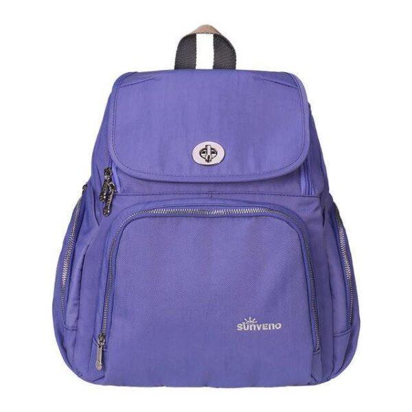 Trendy Mummy Maternity Diaper Backpack Purple