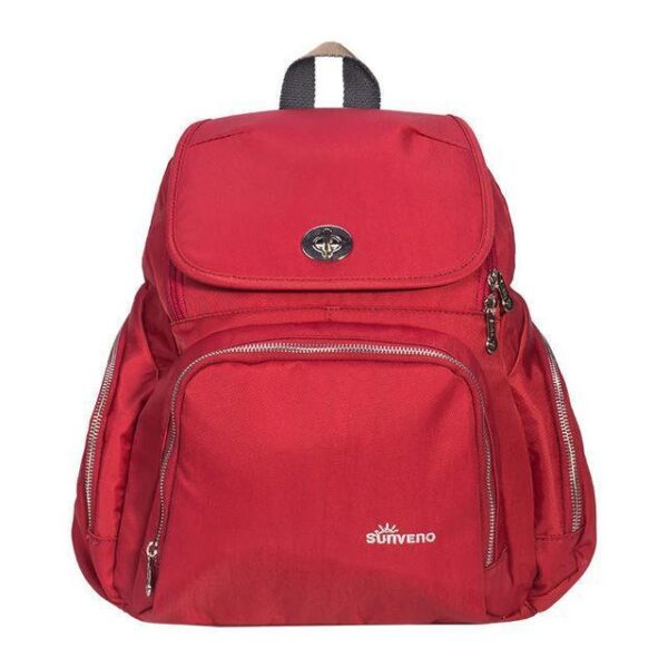 Trendy Mummy Maternity Diaper Backpack Red