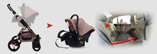 3 in 1 Baby Stroller
