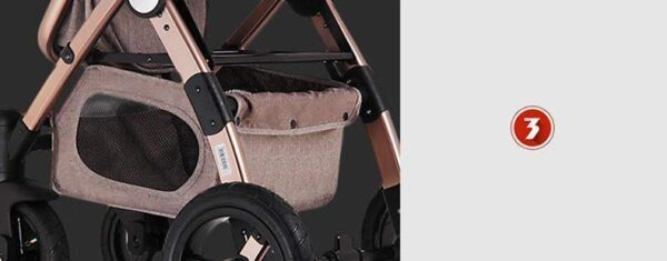 Baby Stroller 3 in 1 Feature