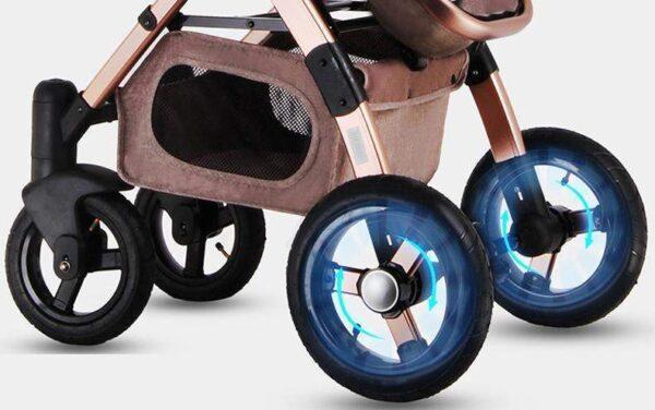 Baby Stroller 3 in 1 Wheels