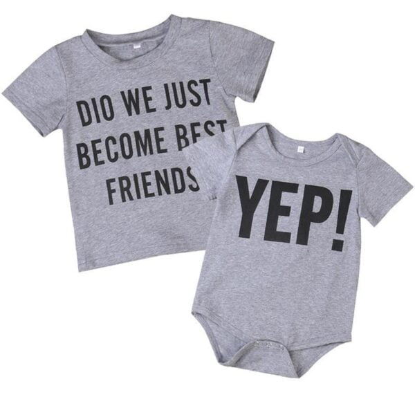Did We Just Become Best Friends T Shirt and Onesie