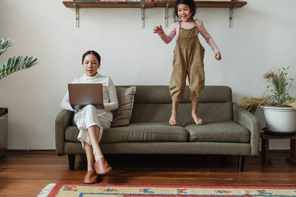 Balance Between Working from Home and Parenting Young Children