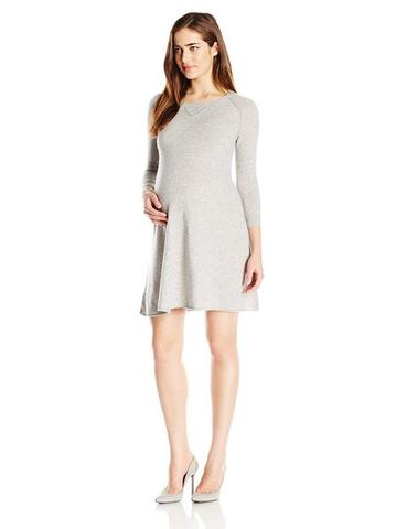 Cashmere child bearing woman dress