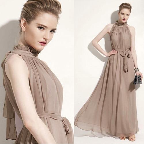 chiffon maternity gown
