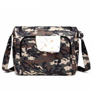 Messenger Diaper Bag Camouflage