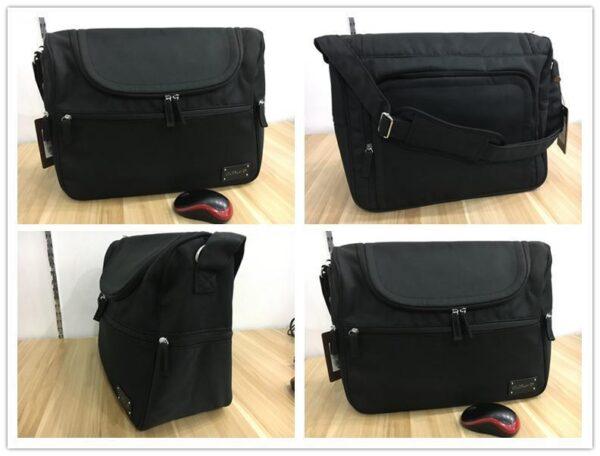 Messenger Diaper Bag Black Photos