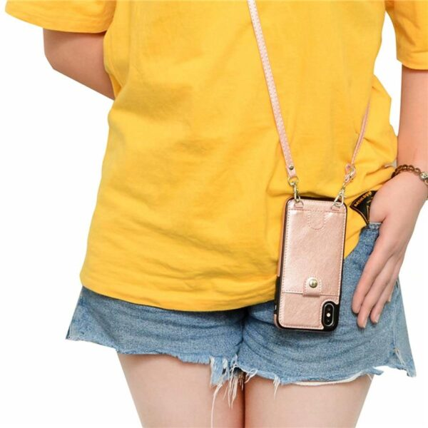 iPhone Purse with Shoulder Strap