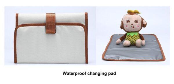 Waterproof changing pad