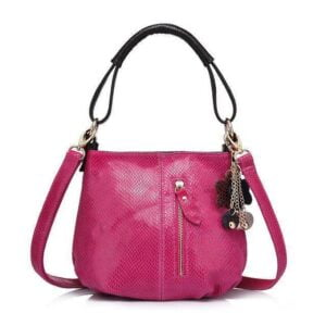 Sissy Leather Handbag Pink