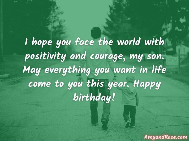 Happy Birthday My Son
