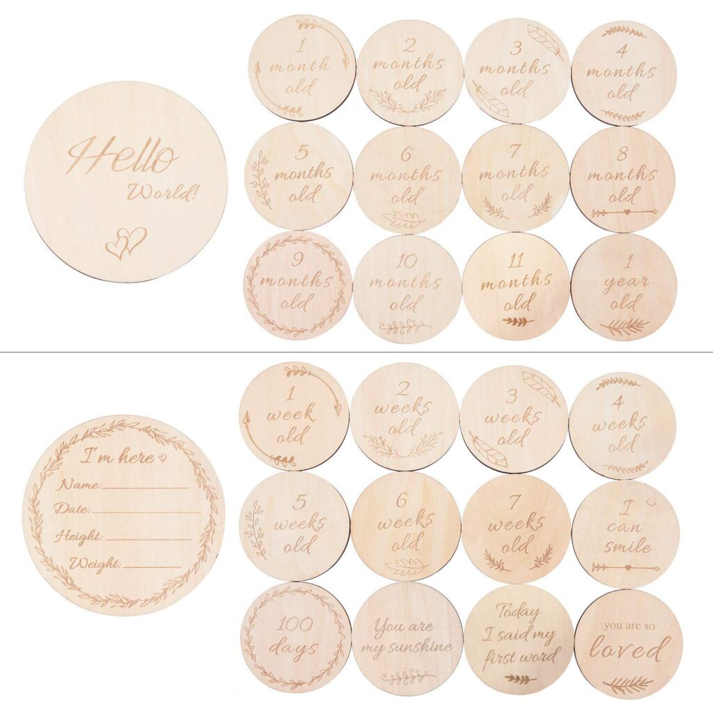 Baby Milestone Card Collection