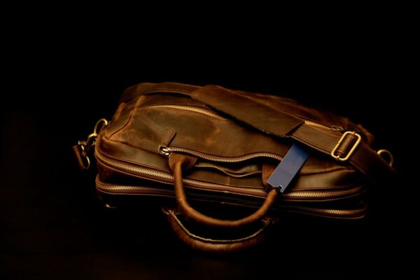 Leather Convertible Backpack View